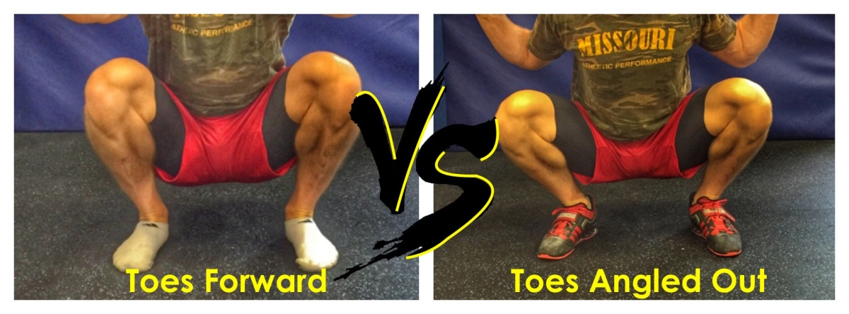 Toes Forward or Angled Out When You Squat? – Squat University