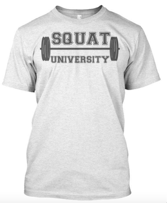 SquatU Shirt in White