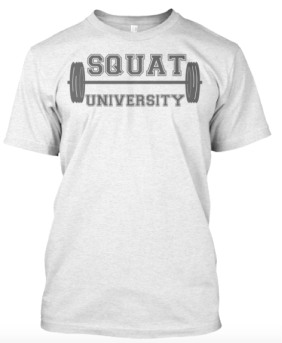 SquatU Shirt in White