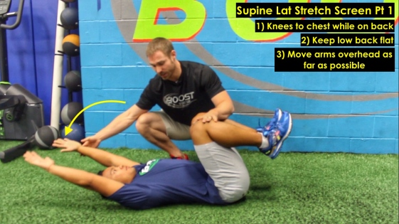Supine Lat Stretch Pt 1