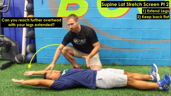Supine Lat Stretch Pt 2